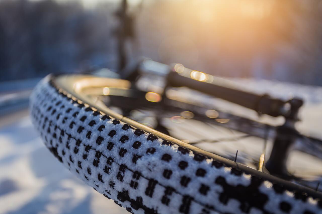 opony zimowe do roweru