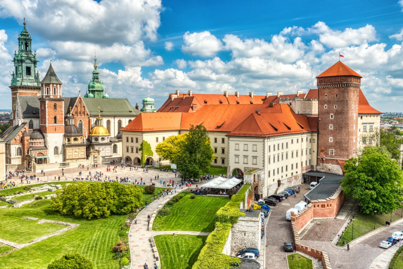 zamek w krakowie