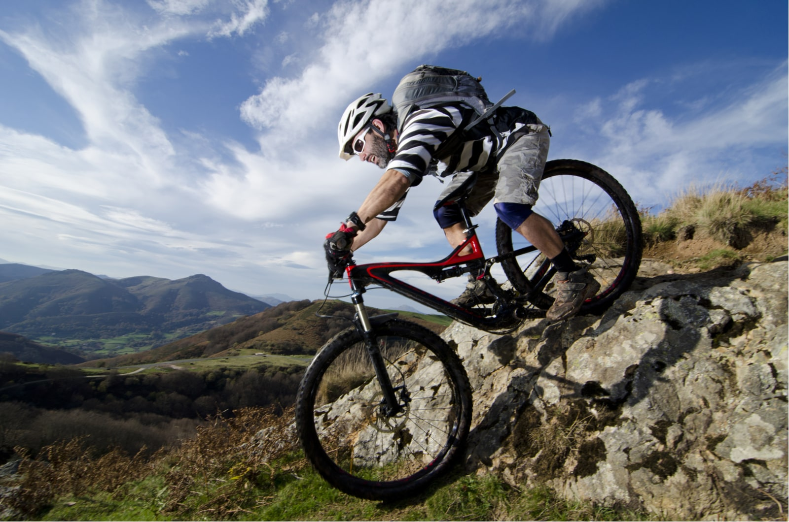 jazda na rowerze mtb w górach