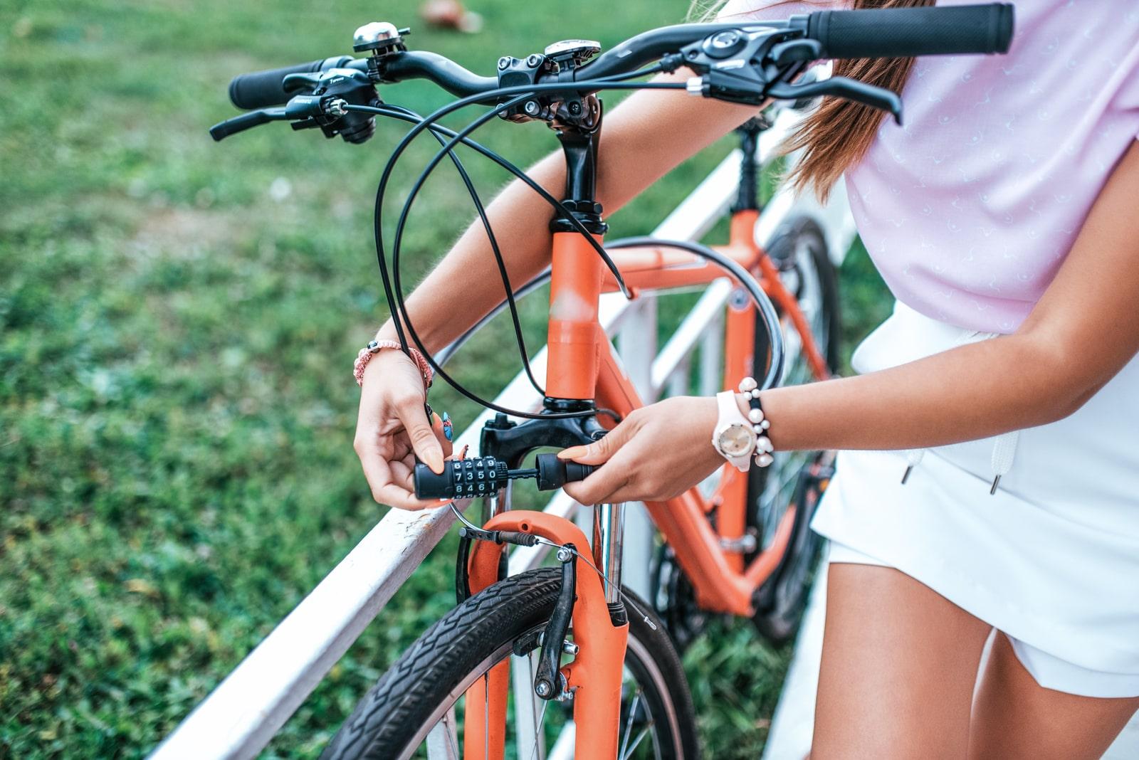 zabezpieczenie roweru typu ulock